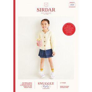 Cardigan in Sirdar Snuggly Replay DK (2554)
