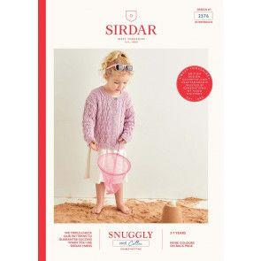 Cardigans in Sirdar Snuggly 100% Cotton DK (2576)