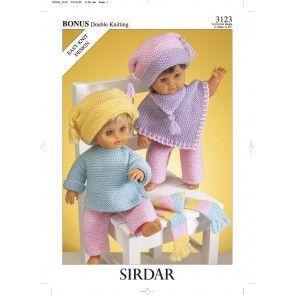 Doll's Outfit in Hayfield Bonus DK (3123)