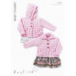 Cardies in Hayfield Baby Chunky (4409)