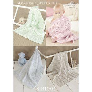 Blankets in Sirdar Snuggly Spots DK (4564)