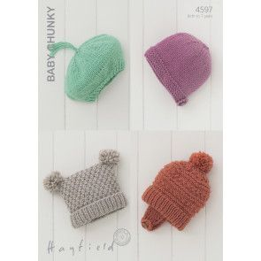 Hats in Hayfield Baby Chunky (4597)