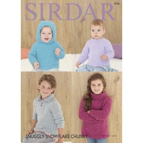 Sweaters in Sirdar Snuggly (4726)
