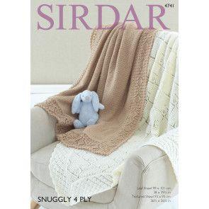 Shawls in Sirdar Snuggly 4 Ply (4741)