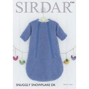 Sleeping Bag in Sirdar Snowflake DK (4760)