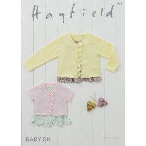 Cardigans in Hayfield Baby DK (4762)