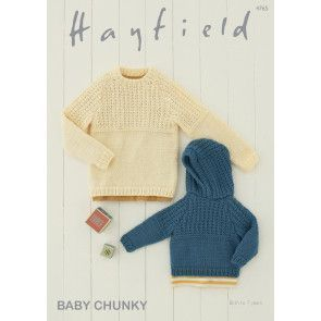 Sweaters in Hayfield Baby Chunky (4765)