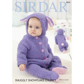 All-In-One in Sirdar Snuggly Snowflake Chunky (4824)