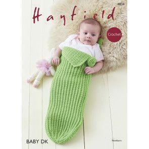 Baby Girl Pod in Hayfield Baby DK (4834)