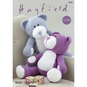 Bear in Hayfield Baby Chunky (4836)