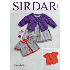 Cardigans in Sirdar Snuggly DK (4944)