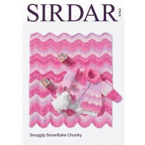 Coat and Blanket in Sirdar Snuggly Snowflake Chunky (5162)