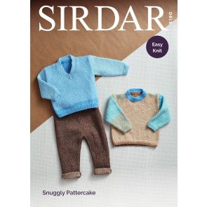 Sweaters in Sirdar Snuggly Pattercake DK (5190)