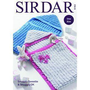 Sleeping Bags in Sirdar Snuggly Sweetie and Snuggly DK (5192)