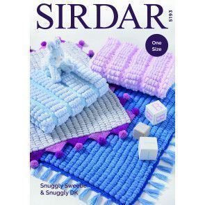 Blankets in Sirdar Snuggly Sweetie and Snuggly DK (5193)