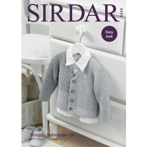 Cardigan in Sirdar Snuggly Pattercake DK (5229)