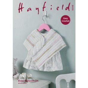 Poncho in Hayfield Baby Blossom DK (5230)