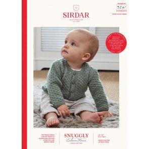 Cardigan in Sirdar Snuggly Cashmere Merino DK (5241)
