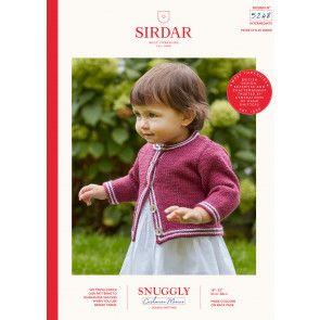 Cardigan in Sirdar Snuggly Cashmere Merino DK (5248)