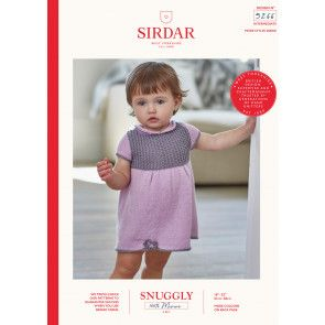 Dress and Shoes in Sirdar Snuggly 100% Merino 4 Ply (5266)