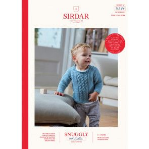 Sweater and Tank Top in Sirdar Snuggly 100% DK (5270)