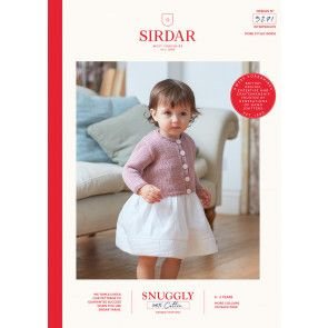 Cardigans in Sirdar Snuggly 100% Cotton DK (5271)