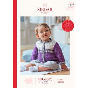 Cardigan in Sirdar Snuggly 100% Cotton DK (5277)