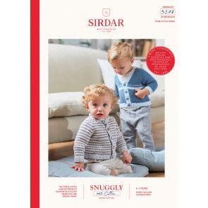 Cardigans in Sirdar Snuggly 100% Cotton DK (5278)