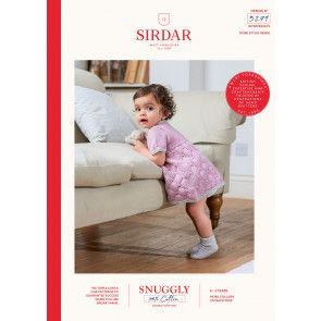 Dress in Sirdar Snuggly 100% Cotton DK (5279)