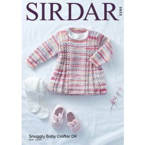 Tunic In Sirdar Snuggly Baby Crofter DK (5295)