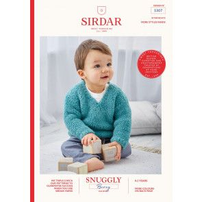 Sweaters in Sirdar Snuggly Bunny (5307)