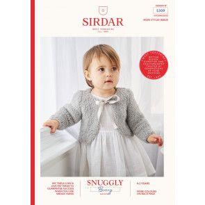 Bolero's in Sirdar Snuggly Bunny (5309)