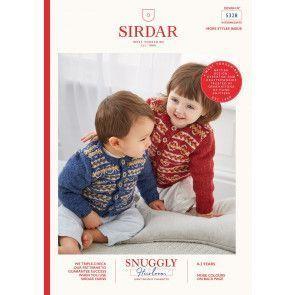 Cardigan in Sirdar Snuggly Heirloom (5328)