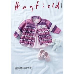 Coat in Hayfield Baby Blossom DK (5340)