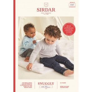 Sweaters in Sirdar Snuggly 100% Merino 4 Ply (5367)