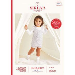 Romper in Sirdar Snuggly 100% Merino 4 Ply (5370)