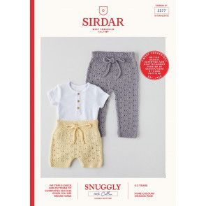 Shorts and Leggings in Sirdar 100% Cotton DK (5377)