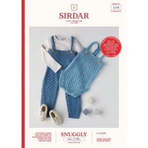 All in One and Romper in Sirdar 100% Cotton DK (5378)