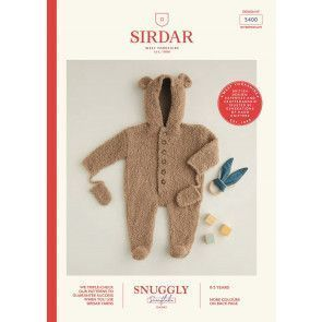 Onesie Sirdar Snuggly Snowflake Chunky (5400)