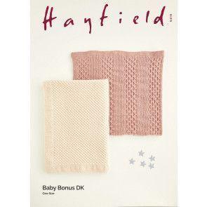 Blankets in Hayfield Baby Bonus DK (5149)