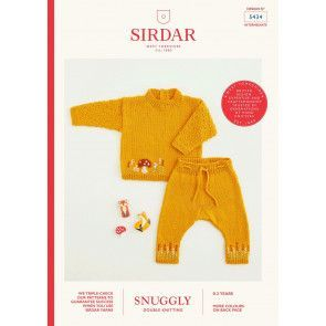 Sweater and Trousers in Sirdar Snuggly DK (5434)