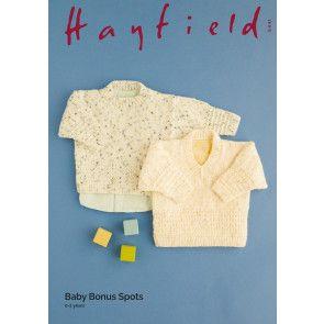 Sweaters in Hayfield Baby Bonus Spots (5441)