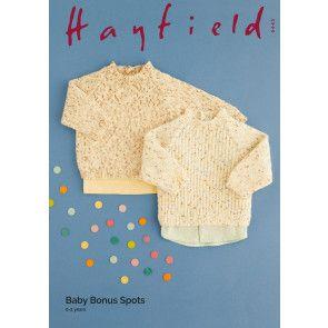 Sweaters in Hayfield Baby Bonus Spots (5443)