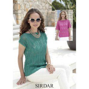 Tops in Sirdar Cotton DK (7079)