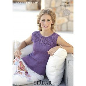 Top in Sirdar Cotton DK (7083)
