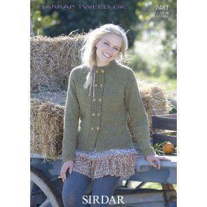Jacket in Sirdar Harrap Tweed DK (7481)