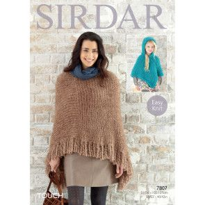 Ponchos in Sirdar Touch (7807)