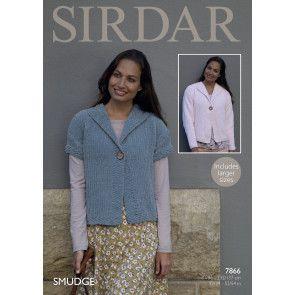 Jacket in Sirdar Smudge (7866)