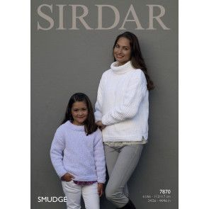 Sweaters in Sirdar Smudge (7870)