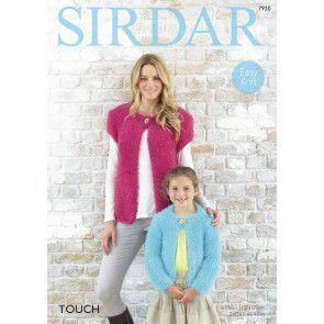 Cardigans in Sirdar Touch (7920)